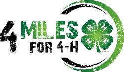 4H miles for 4h logo